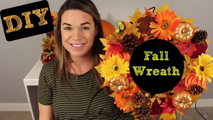 DIY Fall Wreath (YoutubeVideo)