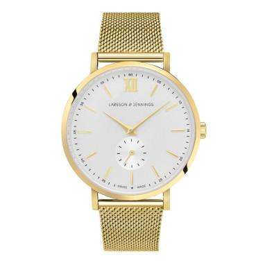 01-lugano-jura-38mm-gold-white-milanese-larsson-and-jennings-watch-hr